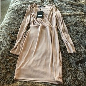 Blush missguided dress